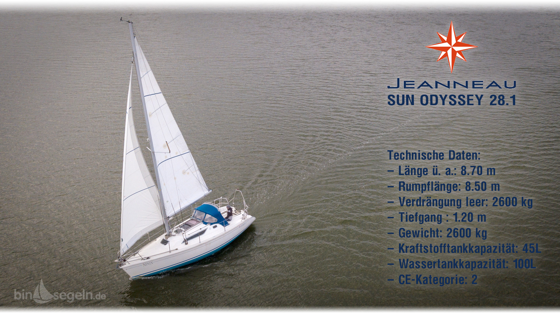 Jeanneau Sun Odyssey 28.1